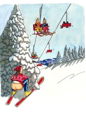 Skiing Originals